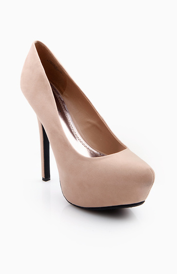 Pointed Toe Platforms Slide 1