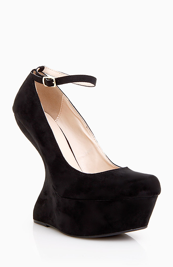 Heel Less Wedges Slide 1
