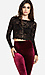 Full Lace Long Sleeve Crop Top Thumb 1