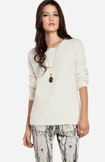 Glamorous Cozy Soft Sweater Slide 1