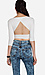 Open Back Crisscross Crop Top Thumb 2