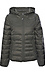 Quilted Short Hooded Jacket Thumb 1