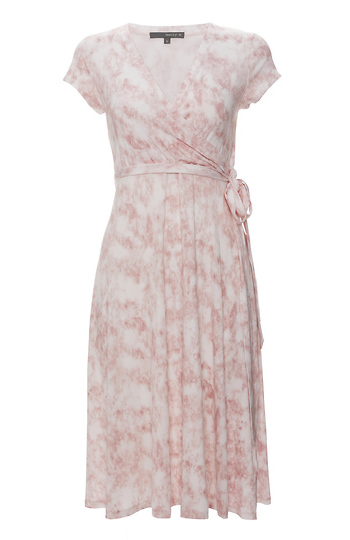 Matty M Tye Dye Faux Wrap Dress Slide 1