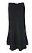Solid Midi Skirt Thumb 1