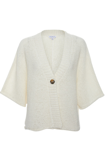 Current Air Open Knit Cardigan Slide 1
