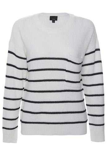 Nautical Striped Sweater Slide 1