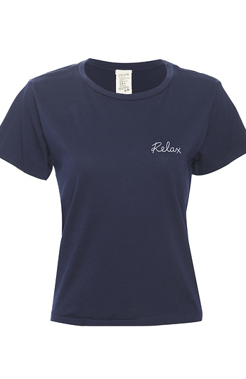 ISMBS Relax Embroidery Tee Slide 1