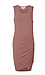 Shirred Side Sleeveless Dress Thumb 1