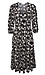 Elbow Sleeve Tiered Midi Dress Thumb 1