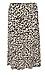 ICHI Animal Print Midi Skirt Thumb 1