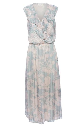 Everly Printed Midi Dress Slide 1