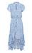 Animal Printed High Low Maxi Dress Thumb 1