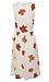 Surplice Floral Print Midi Dress Thumb 2