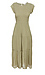 Flutter Sleeve Midi Dress Thumb 1