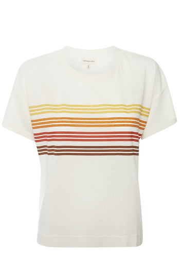 Thread & Supply Striped Tee Slide 1