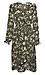 Printed Long Sleeve Midi Dress Thumb 1