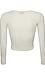 Shirred Front Long Sleeve Top Thumb 2
