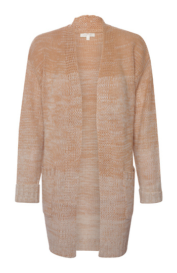 Relaxed Open Front Cardigan Slide 1