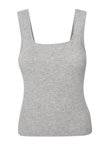 Current Air Sleeveless Square Neck Top Slide 1