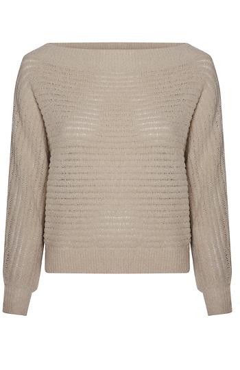 Off Shoulder Dolman Sweater Slide 1