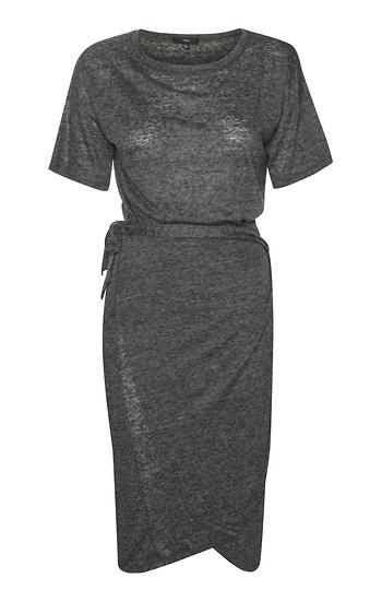 Wrap T-Shirt Dress Slide 1