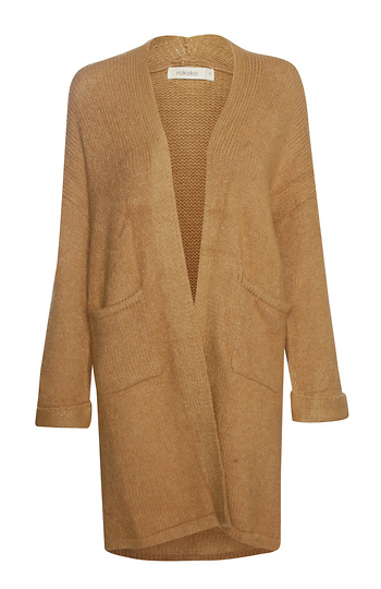 Long Cardigan With Outer Pockets Slide 1