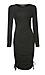 Renee C Long Sleeve Fitted Dress Thumb 1