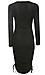 Renee C Long Sleeve Fitted Dress Thumb 2